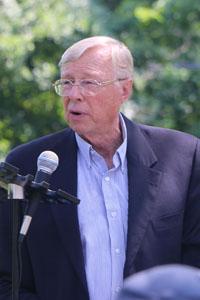 Old Brookville Mayor Bernie Ryba