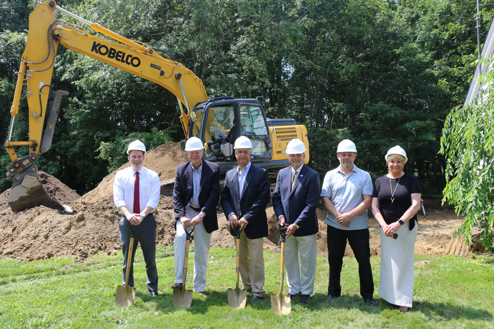 Village Holds Groundbreaking for Village Hall Expansion and Renovation