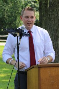 Nassau County Legislator Josh Lafazan